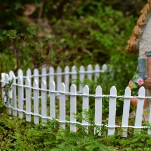 Picket Fence – White
