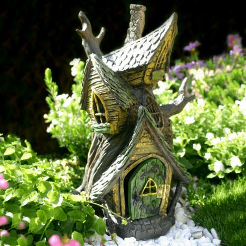 Fiddlehead fairy Garden House