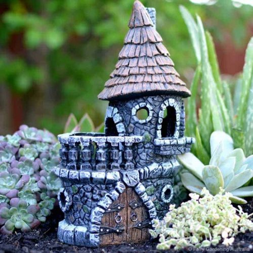 Fiddlehead Woodland Fairy Castle
