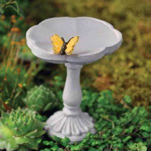 Butterfly Bird Bath