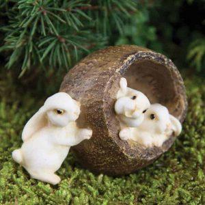 Bunnies in a Walnut