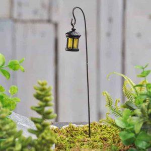 Woodland Lantern with Shepherds Hook