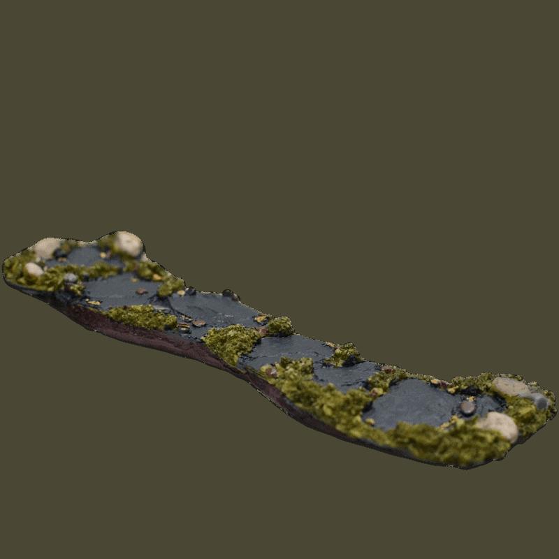 Fiddlehead Slate Path