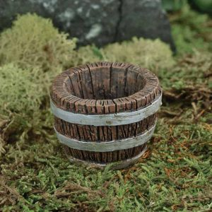 Miniature Barrel Planter