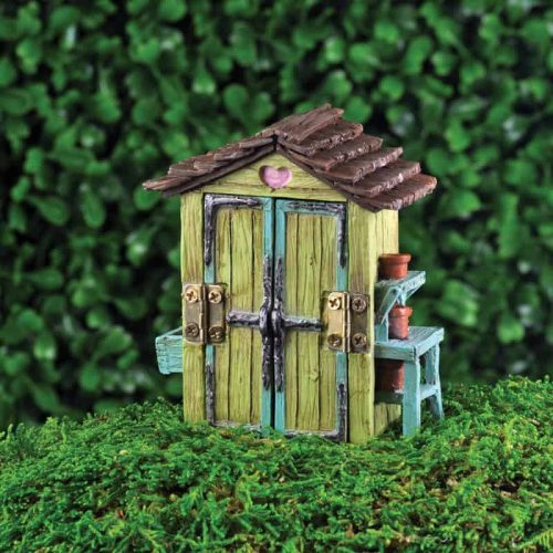 shed for fairy garden