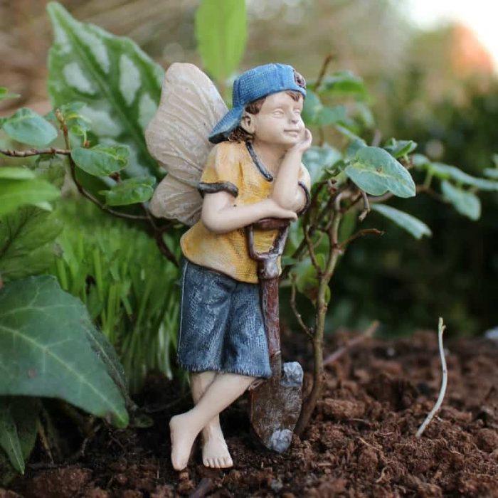 Fairy Gavin, Figurine for fairy gardens