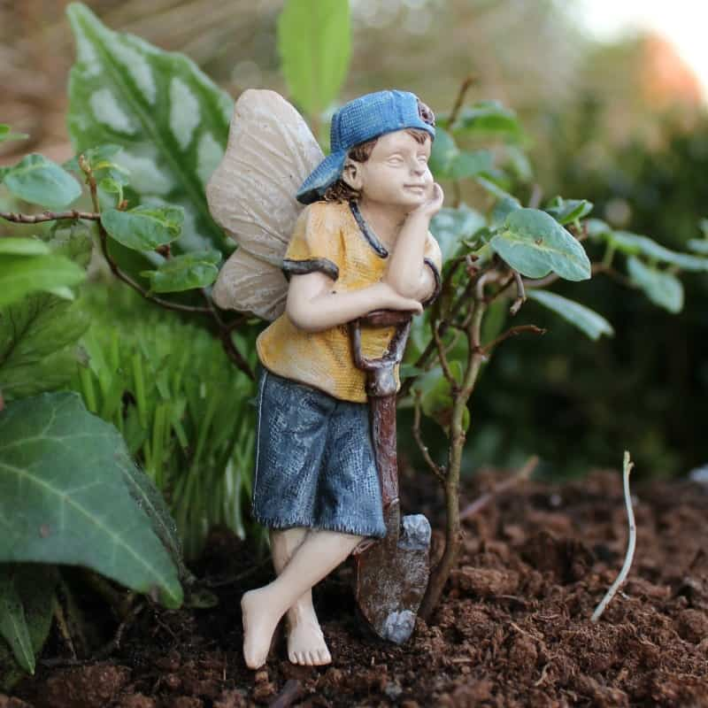 Fairy Gavin, Figurine for fairy gardens