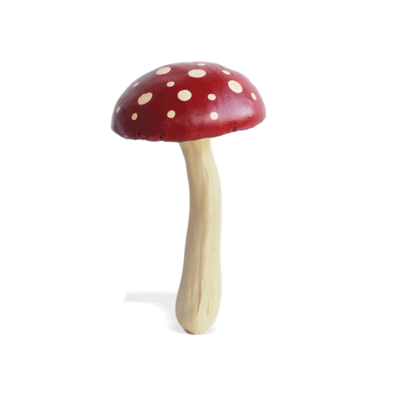 Tall Round Toadstool