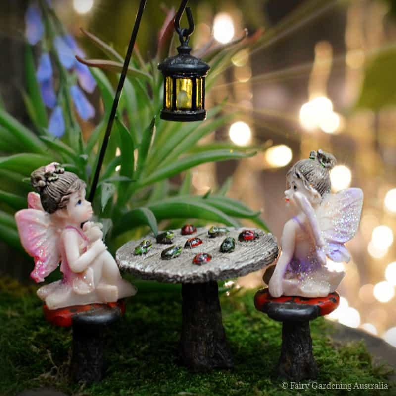 tic tac toe set with fairies