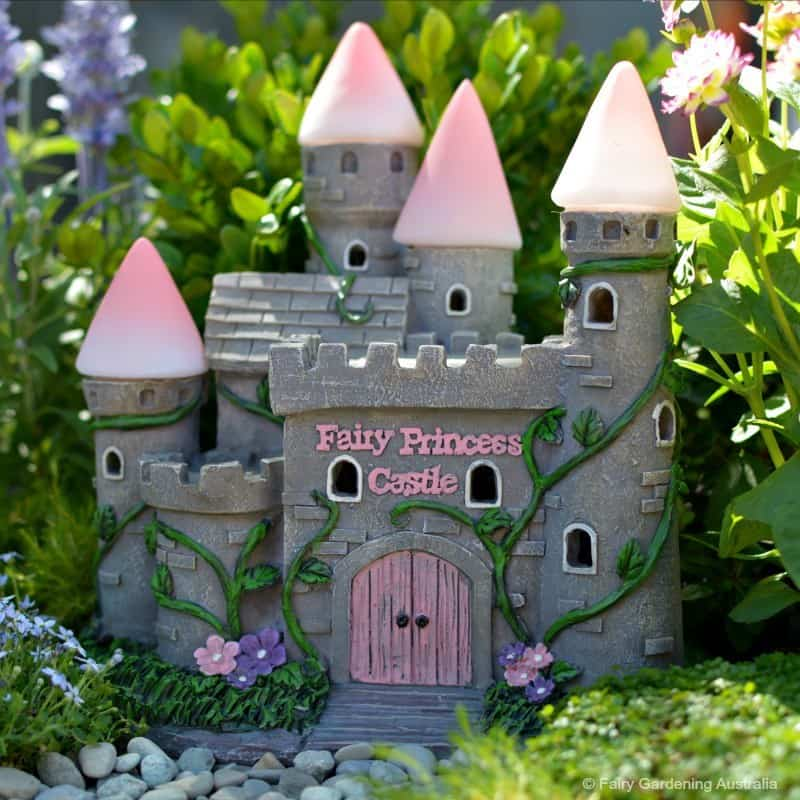 Fairy Princess Castle Solar Fairy Gardening Australia