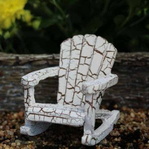 Weathered Rocking Chair