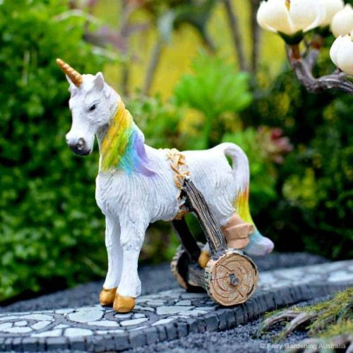 Unicorn with Crutch