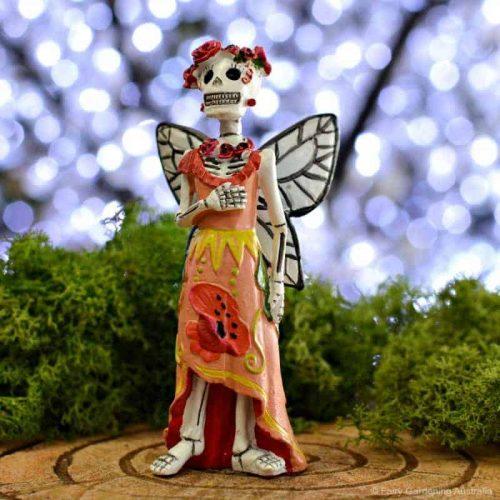 Sugar Skull Poppy Fairy Catrina