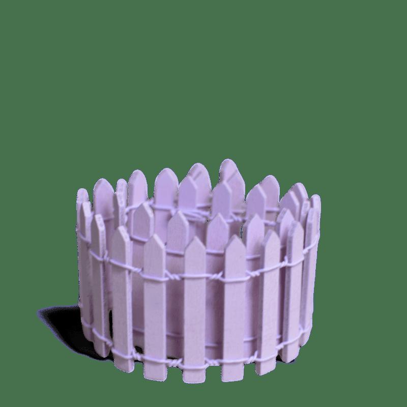 Purple Picket Fence