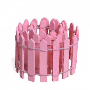 Picket Fence – Pink