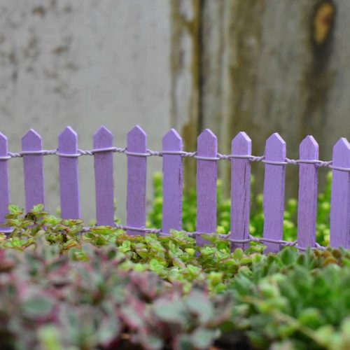 Picket Fence – Purple