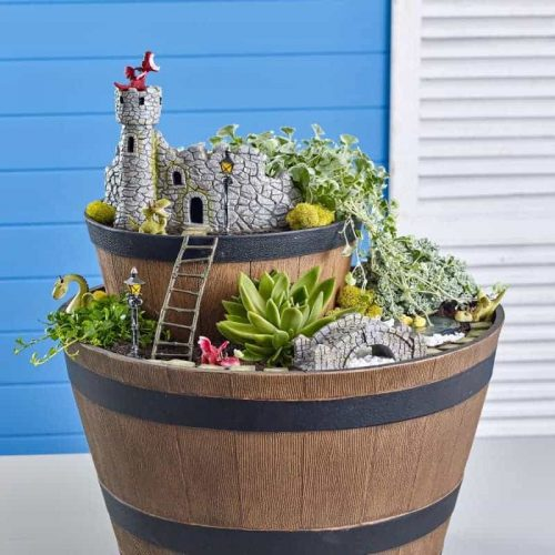 Dragon Castle Garden Kit