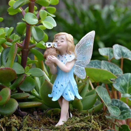 Fairy Athena with Owl