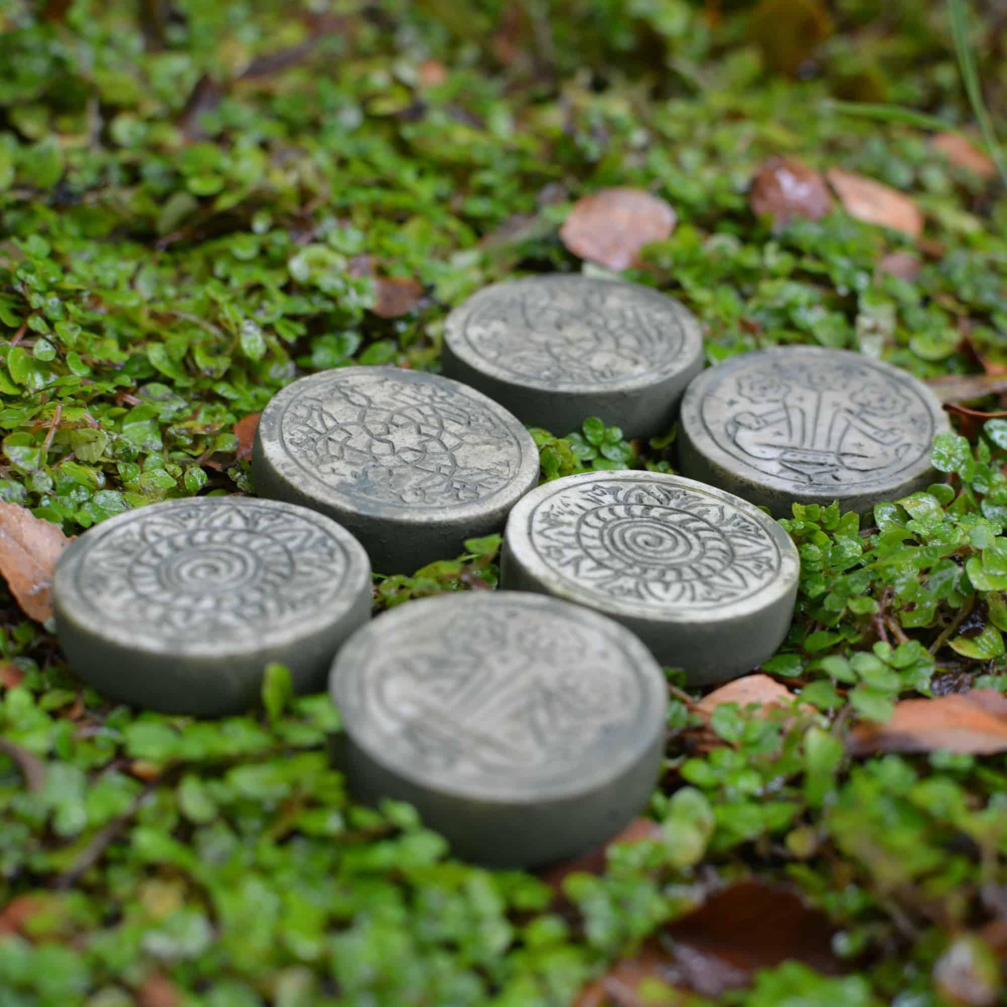 miniature garden stepping stones
