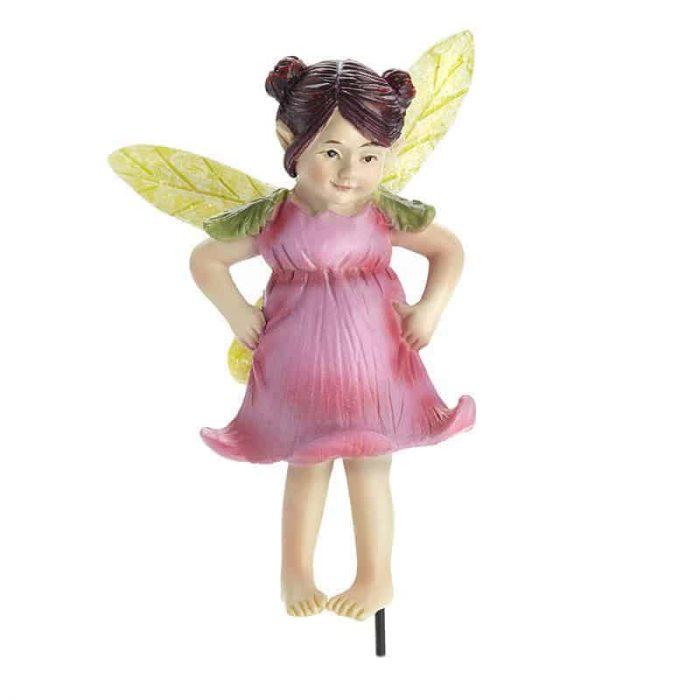 Fairy Figurine with Pink Dress