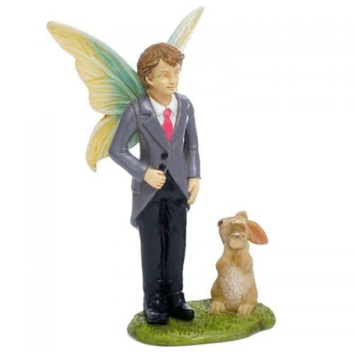 Fary in suit with bunny