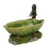 Leaf bath tub
