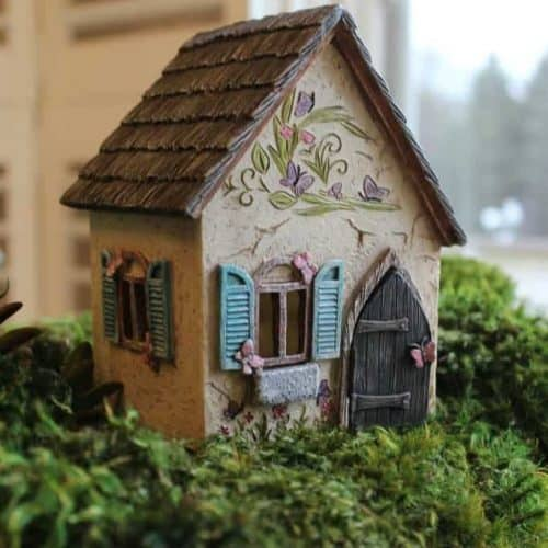 Cottage for fairy gardens, Brookside
