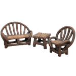 Appalachian Bench Set