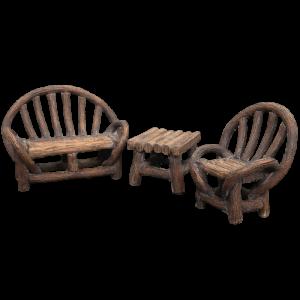 Appalachian Bench Set