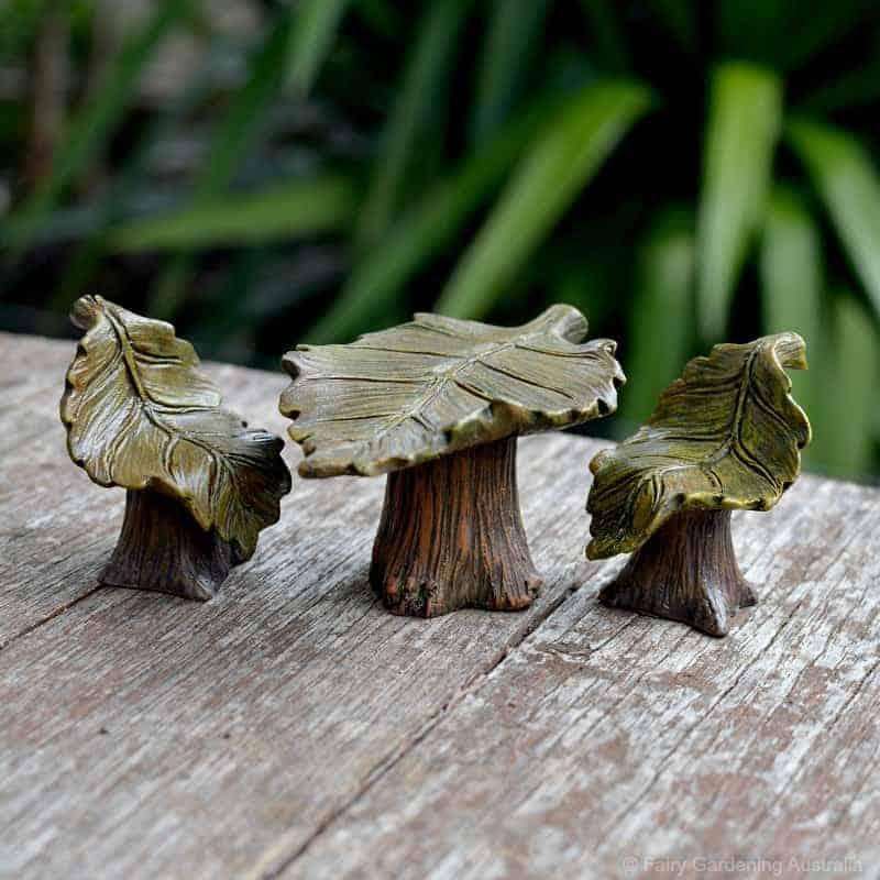 leaf design table set