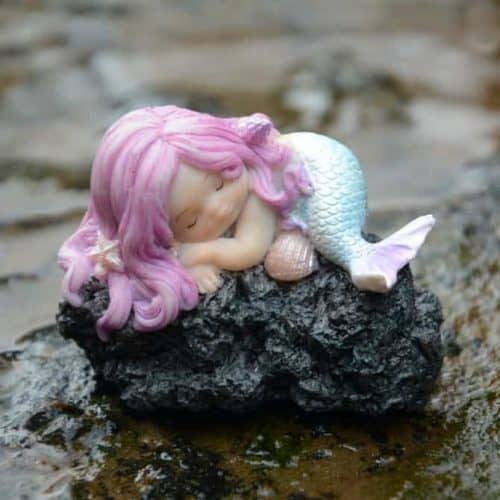 Little Mermaid Snoozing