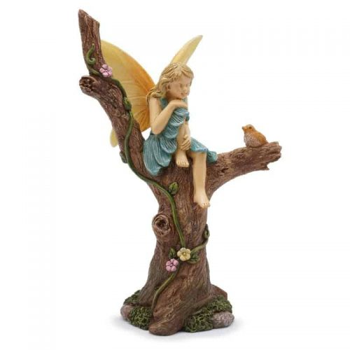 Fairy Sitting in Tree