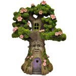 Pink Flower Tree House – Solar