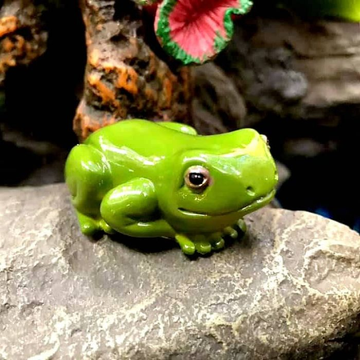 Forest Frog, Fairy Garden Ornament