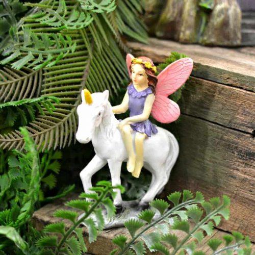 Unicorn with Fairy Rider