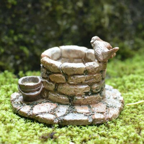 Wishing Well with Birds