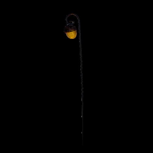 Woodland Acorn Lantern w/- Garden Hook