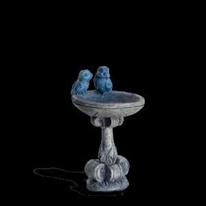 Bluebird Birdbath