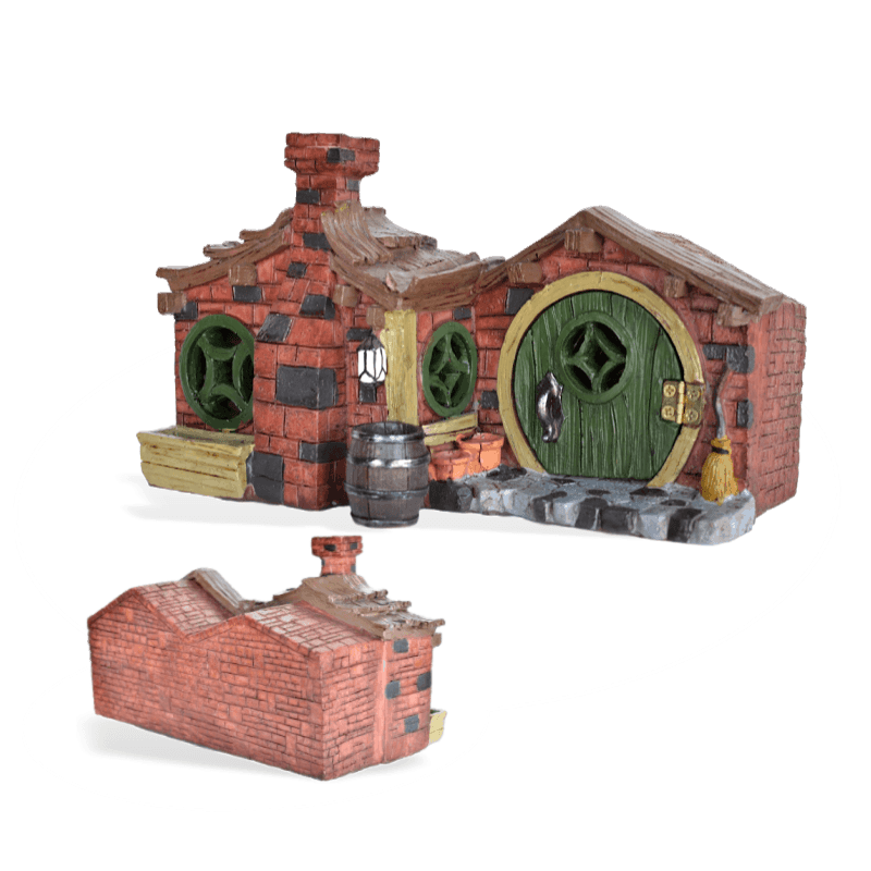 Brick Fairy House
