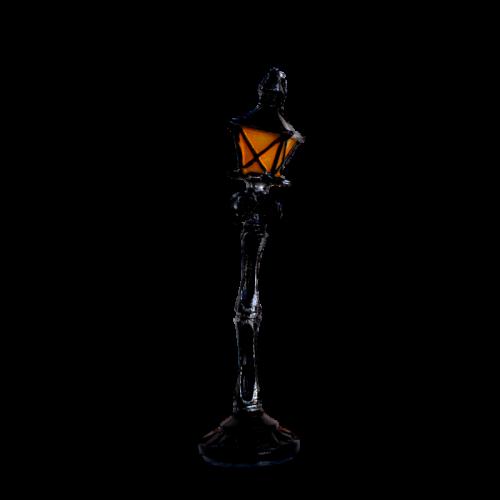 Fiddlehead Crooked Lamp Post