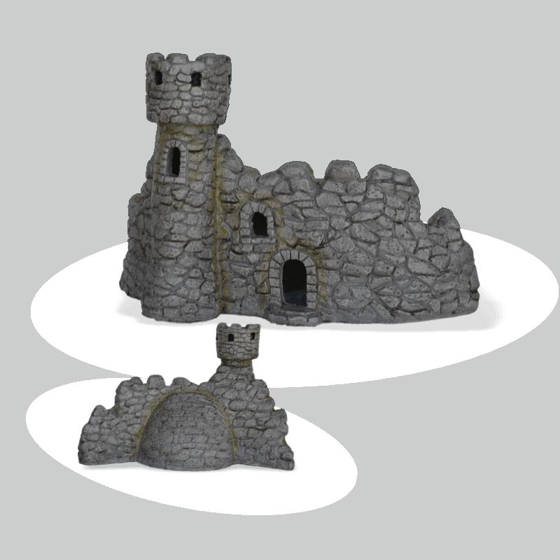 Dragon Keep Castle Facade