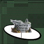 Dragon Warning Sign