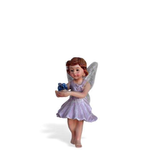 Fairy Viola with Bluebird