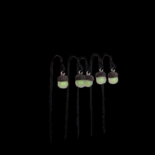 Glowing Acorn Light Set