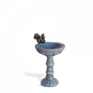 Squirrel Birdbath