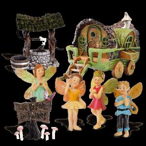 The Travellers Fairy Garden Kit