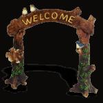 Fairy Garden Welcome Arch