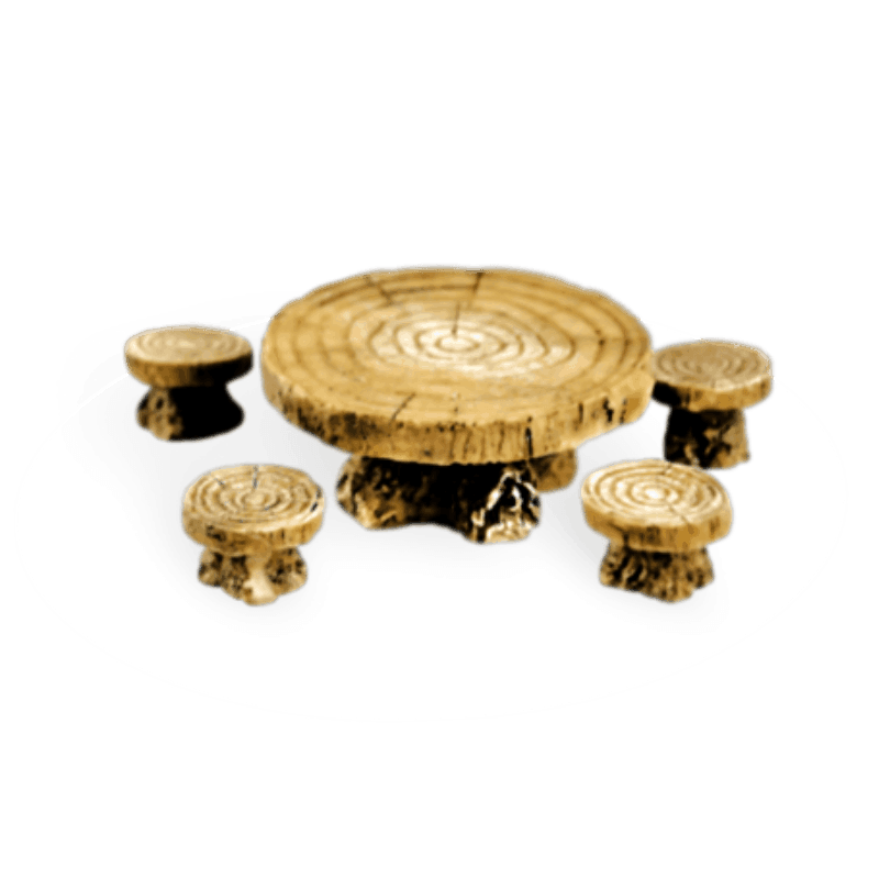 Woodland Table and Stools