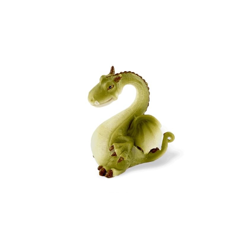 long neck green dragon