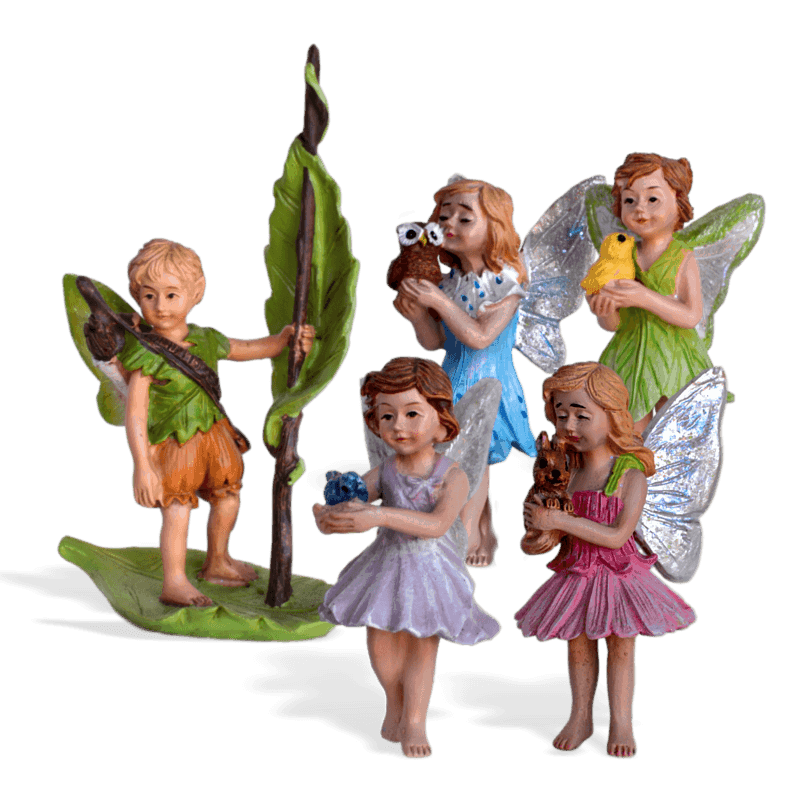 Woodland Fairy Pack Bulk Figurines
